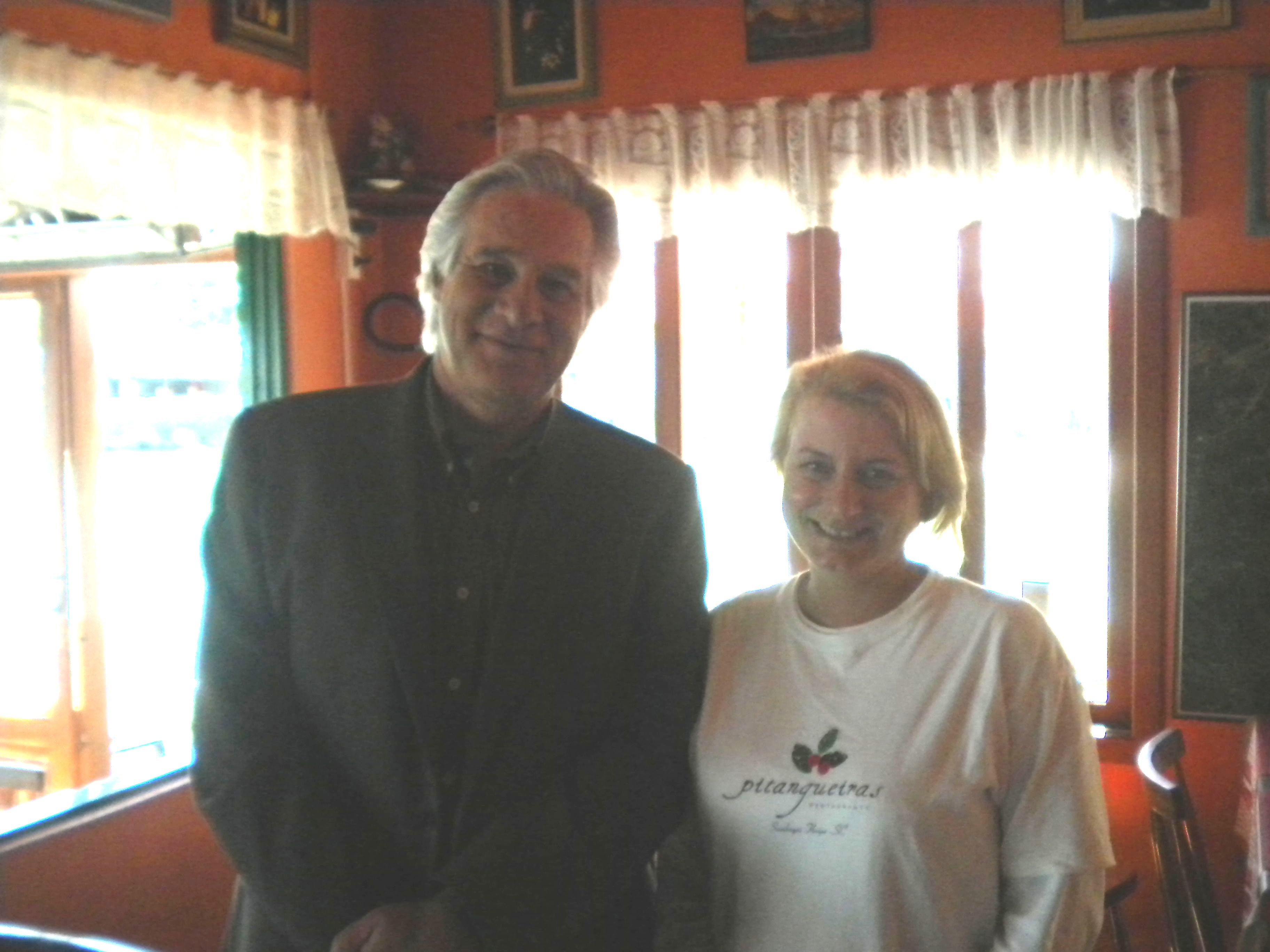Max Gheringer e Cristina